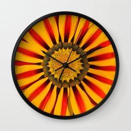 Sunshine Gazania Wall Clock