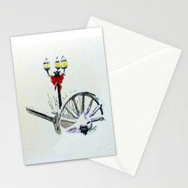 Christmas light Stationery Cards