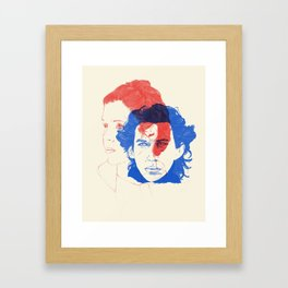 Like Mother, Like Son Framed Art Print