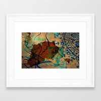 oriental Framed Art Prints featuring Oriental by LoRo  Art & Pictures