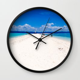 Kalanggaman Island, Leyte, Philippines Wall Clock