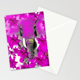 Elephant #66 Stationery Cards