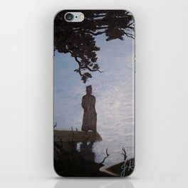 Sherlock Holmes ( Silent Thoughts at the Lake) iPhone Skin