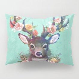 Deer of Spring Pillow Sham