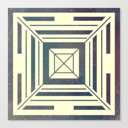 Space Square Canvas Print