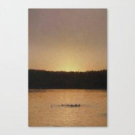 Last Swim Canvas Print