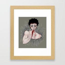 akaashi Framed Art Print