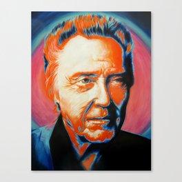 Christopher Walken-More Cowbell Canvas Print