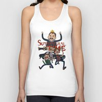 supernatural Tank Tops featuring Supernatural Time!  by The Kao