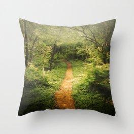 The Beckoning Throw Pillow