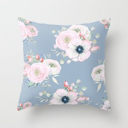 Dog Roses #society6 #buyart Throw Pillow