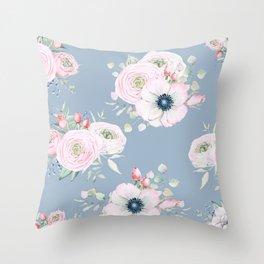 Dog Roses #society6 #buyart Throw Pillow
