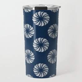 Shibori Swircles Travel Mug