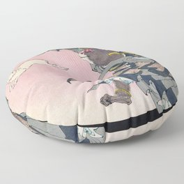 12,000pixel-500dpi - Tsukioka Yoshitoshi - Top Quality Art - SONGOKU Floor Pillow