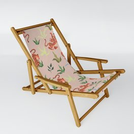 Dancing Tiger (Taupe) Sling Chair