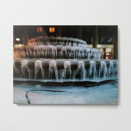 Photograph of the Cold Metal Print