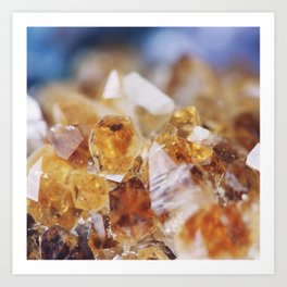 Citrine Light Art Print