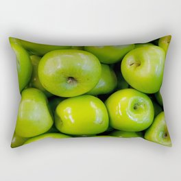 green-apples Rectangular Pillow