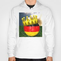world cup Hoodies featuring World Cup Champion 2014 by Littlebell