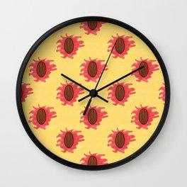 Peaches n Cream Wall Clock
