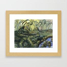 Jungle Patrol Framed Art Print
