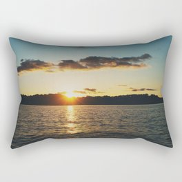 Sunset over Lake of the Ozarks  Rectangular Pillow
