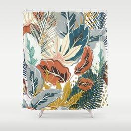 Tropical Wild Jungle Shower Curtain