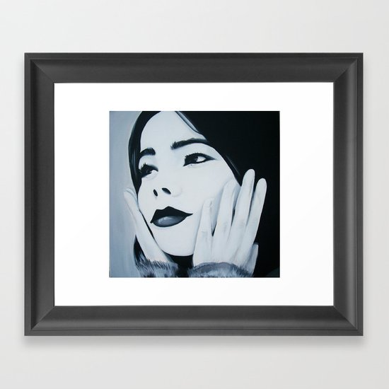 Bjork Muse Framed Art Print
