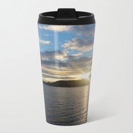 Peeking Sun Travel Mug
