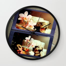 Life Is A Carnival, Dog Wall Clock