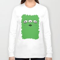 toy story Long Sleeve T-shirts featuring ALIEN ALIENS TOY STORY by BeautyArtGalery