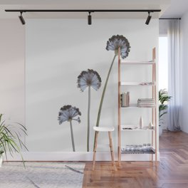 three flowers Wall Mural