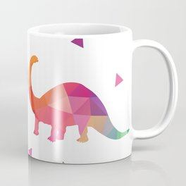 Geometric Dinosaurs Coffee Mug