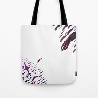 mass effect Tote Bags featuring Mass Effect 100% Readiness by Fabio Castro