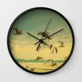 Flight Pattern Wall Clock