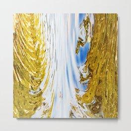 488 - Abstract water design Metal Print