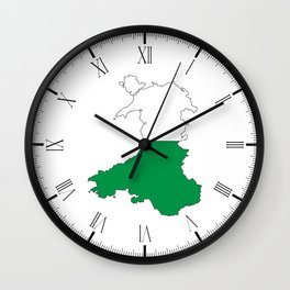 Wales and the Dragon Wall Clock