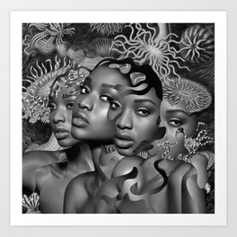 In All Ways Woman Art Print