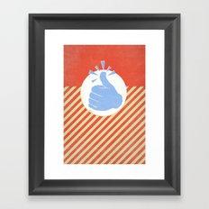 Thumbs Up! Framed Art Print