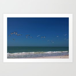 Perspectives in Paradise Art Print