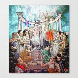 L'apothéose d'Emmanuel Canvas Print