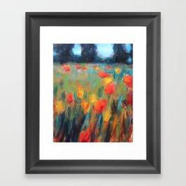 Hillside Brights Framed Art Print
