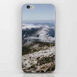 Cannon Mountain from Mt. Lafayette iPhone Skin