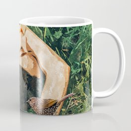 Jungle Vacay #painting #portrait Coffee Mug