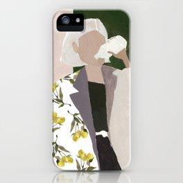 Lemon Jacket iPhone Case