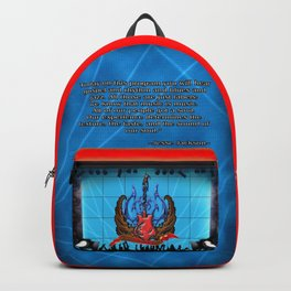 THE CHURCH OF ROCK A SIDE Backpack