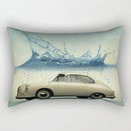 deep water porsche Rectangular Pillow