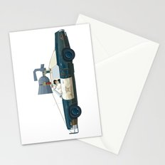 The Blues Brothers Bluesmobile 2/3 Stationery Cards