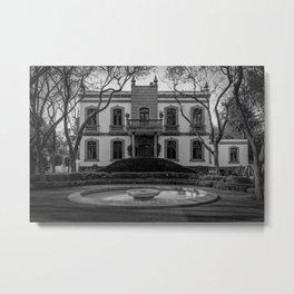 Casa de California BW Metal Print
