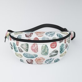 Coral Sea Pebbles Pattern Fanny Pack